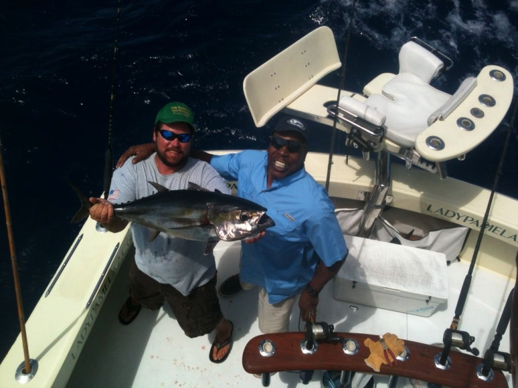 Vinnie Johnson NBA Fort Lauderdale Fishing Charters