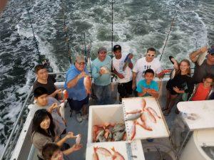 Large group fishing